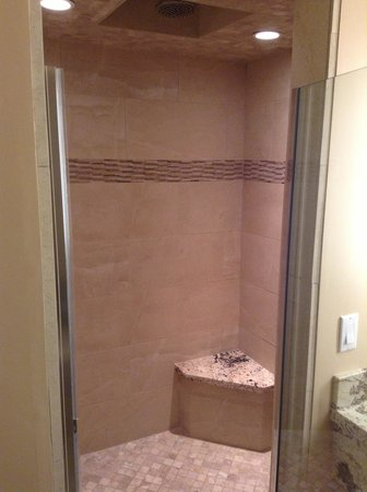 BEST WESTERN PLUS Arroyo Roble Hotel & Creekside Villas: nice shower in Roble North room