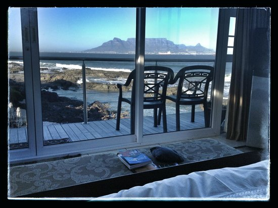 Pinard on Sea: View from Bed