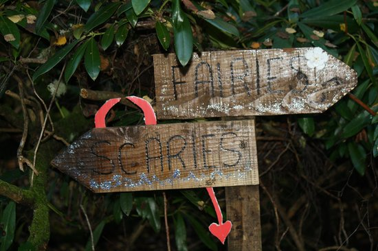 Coul House Hotel: fairies and scaries