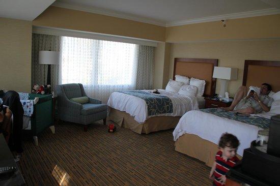 Marriott Marquis San Diego Marina: Twin room