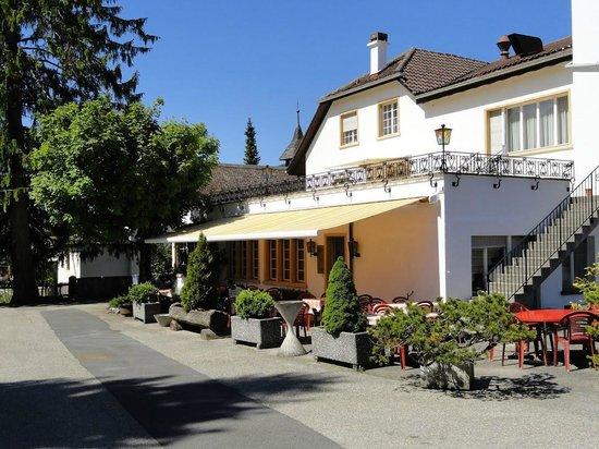 Restaurant du Chasseur : La terrasse