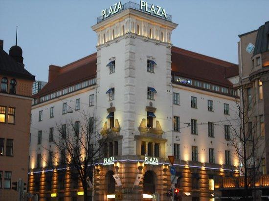 Radisson Blu Plaza Hotel, Helsinki: Very nice building