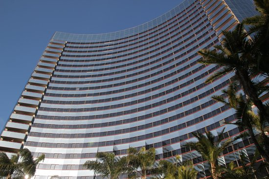 Marriott Marquis San Diego Marina: The tower which our room was in (can't remember if North or South)