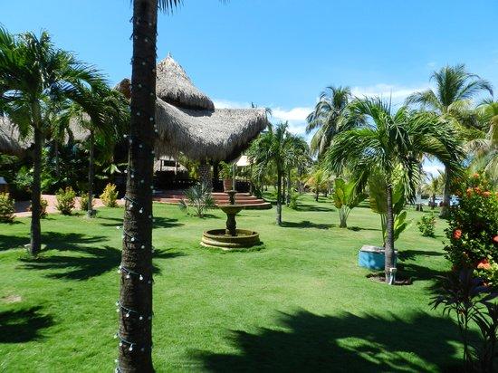 Punta Faro: el jardín