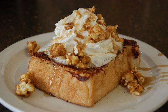 Brick Oven Cookery : French Toast du Jour, Sunday Brunch
