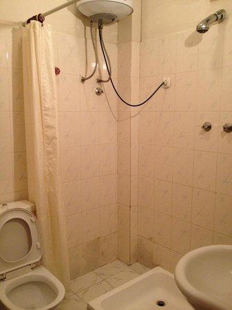 Homland Hotel : bathroom