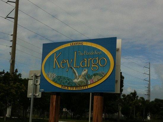 Travelodge Florida City/Homestead/Everglades: Leaving Key Largo...