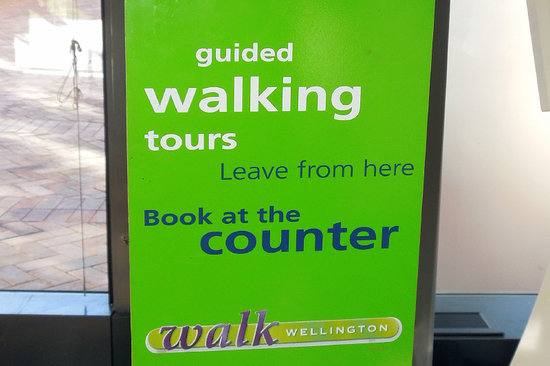 Walk Wellington: Walks start here