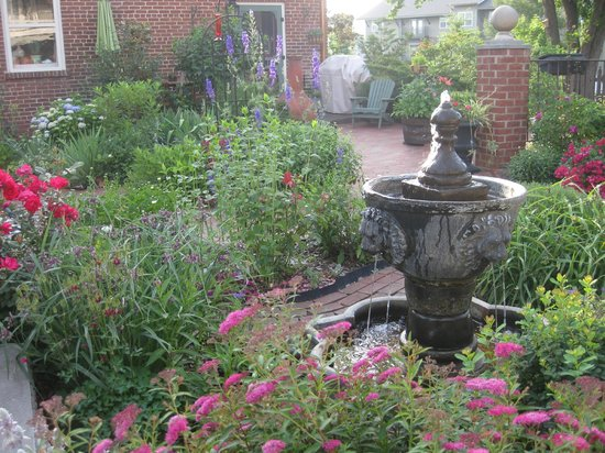 The Reynolds Mansion: garden