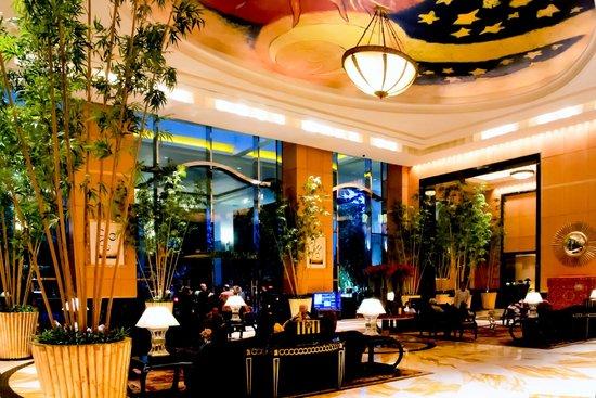 Hotel Mulia Senayan, Jakarta : Lobby Entrance