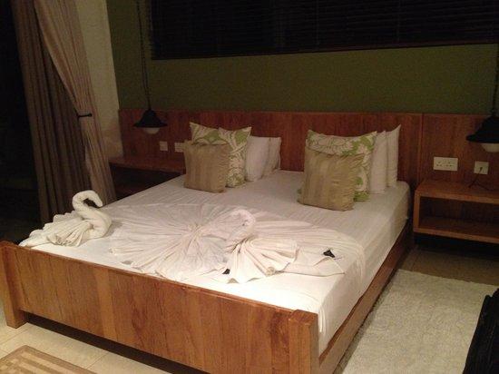 Le Repaire Boutique Hotel: Chambre a coucher avec vue sur océan