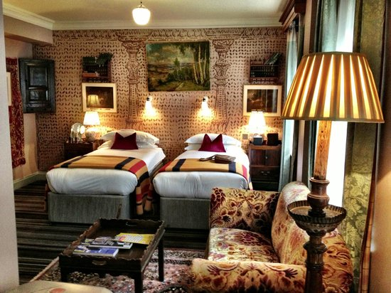 The Zetter Hotel : spacious room