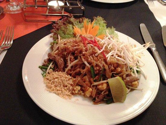 Restaurant Golden Thai Food: My meal