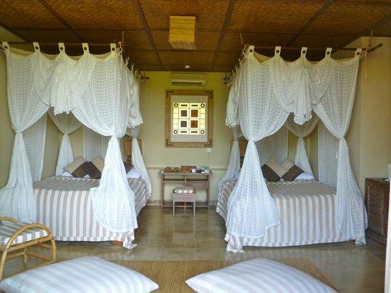 Wapa di Ume Resort and Spa: our bedroom