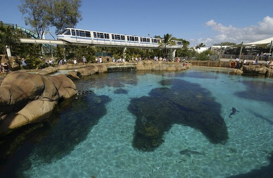 Sea World: Monorail