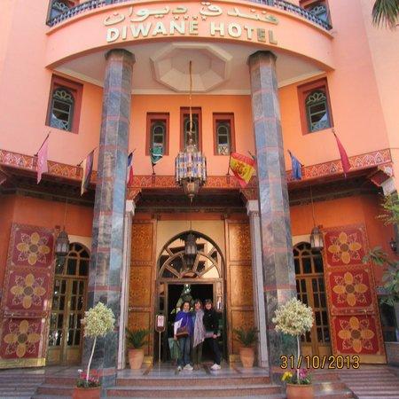 Diwane Hotel: Frente del hotel