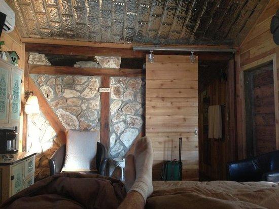 Gruene Homestead Inn : View from Bed