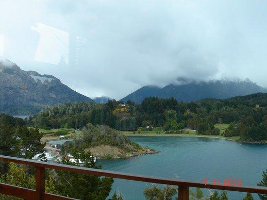 Intersur Amancay: Vista desde el desayunador del hotel