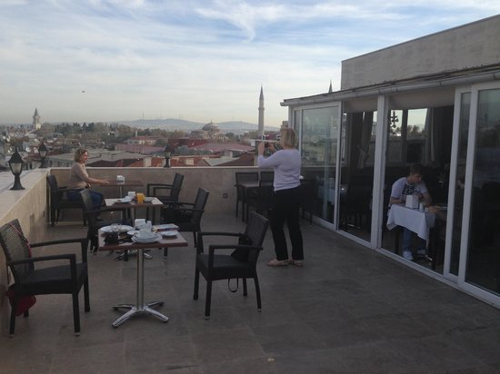 Ayasultan Hotel: Terrace
