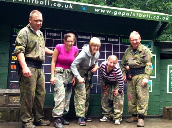 GO Paintball London: Damp but not out