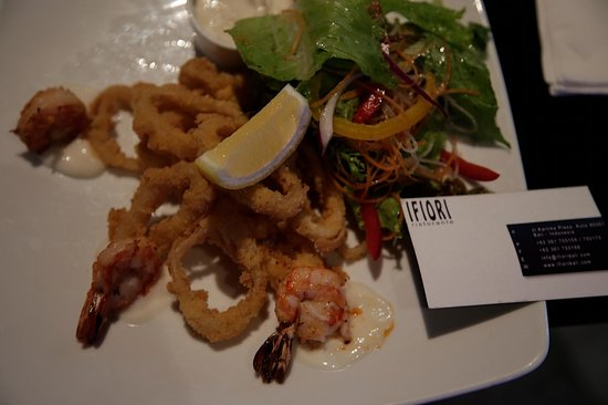 Ifiori : After the batter had been removed from the prawns