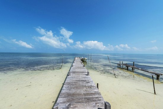 Belize European Adventures: One of distant cayes on the trip