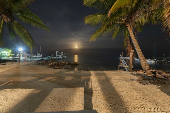 Belize European Adventures: Sunset on Caye Caulker