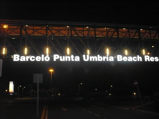 Barcelo Punta Umbria Beach Resort: la noche