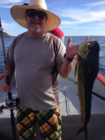 El Tiburon Casitas: fishing in Loreto, thanks to Liz's recomendation @ El Tiburon Casitas!