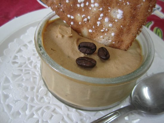St-L: Luscious coffee mousse