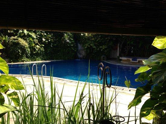 Ramayana Resort & Spa: Adult pool area - view from Breakfast