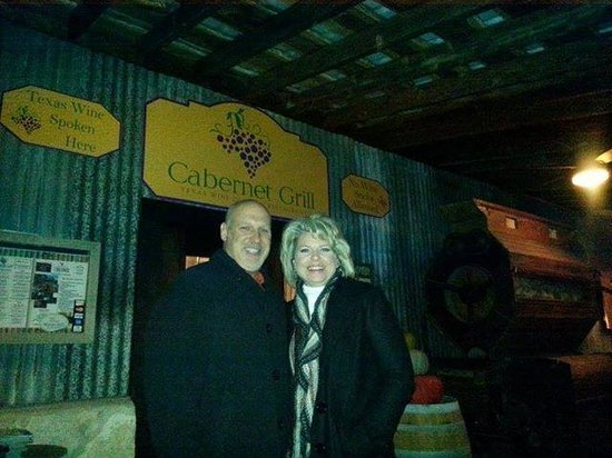 Cabernet Grill Texas Wine Country Restaurant: Happy Birthday in the Wine Country!