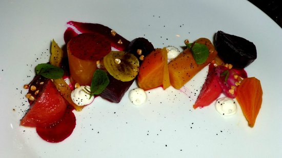 One Restaurant: Beet salad