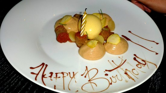 One Restaurant: B-day desert