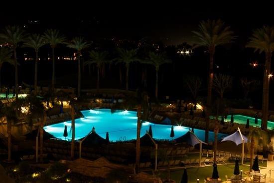 JW Marriott Desert Springs Resort & Spa: view from our balcony