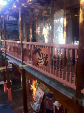 The Tap Room: Outdoor Seating Rail