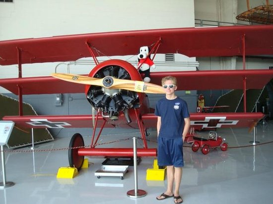 Fantasy of Flight: Red Baron's tri-plane