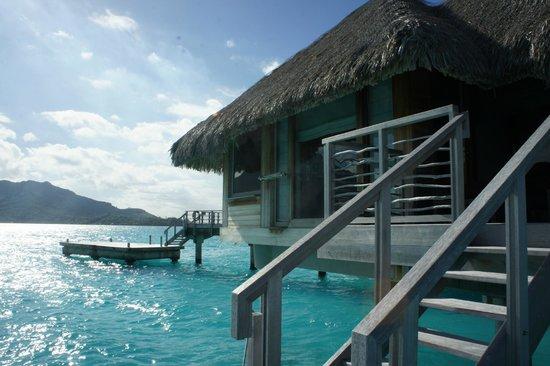 InterContinental Bora Bora Resort & Thalasso Spa: Vista do deck