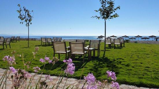 Castello Antico Beach Hotel: sea view garden