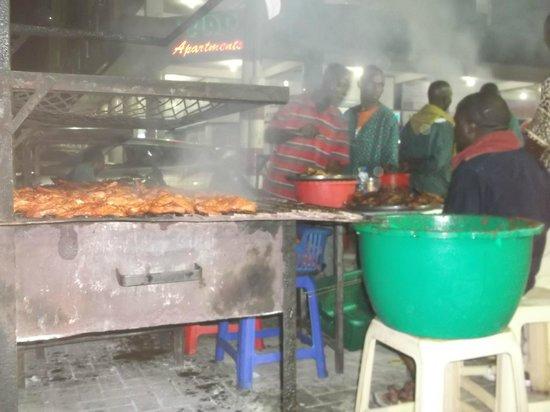 Mamboz Restaurant : barbacoa