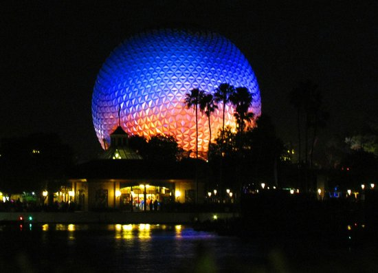Image result for picture of the dome at Epcot in Orlando