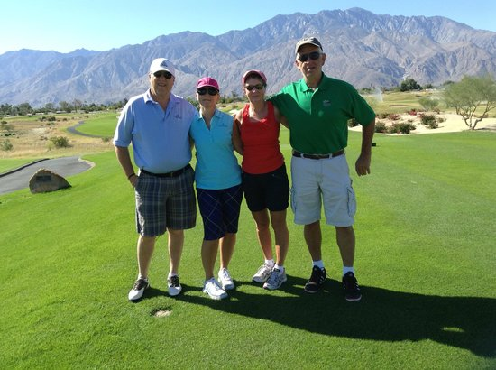 Cimarron Golf Club: Dan,Millie,H,Kevin