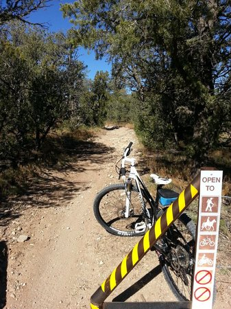 The BikeSmith: Coyote Trail upper trailhead