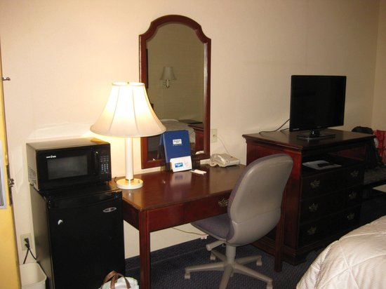 Rodeway Inn: Room furnishings