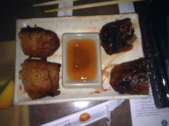 Nakama Japanese Steakhouse: Disgusting...i wouldnt give this to my D0g