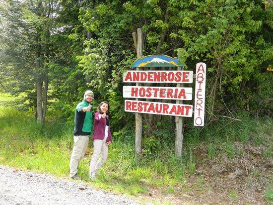 Hosteria Andenrose: Gracias por todo Hans!!!