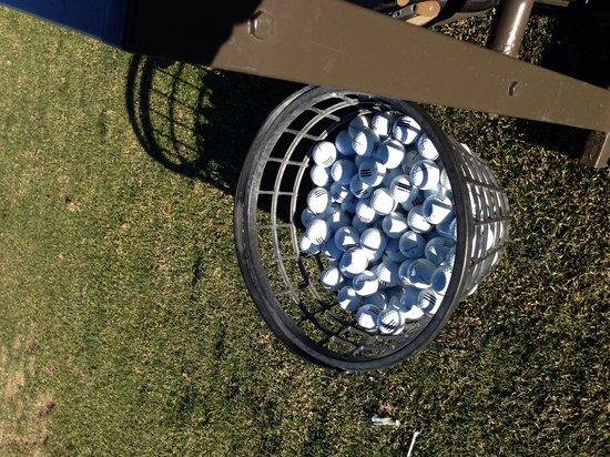 Omni Interlocken Resort Golf Club: Unlimited balls at the range