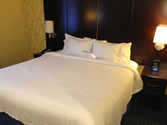 Fairfield Inn New York Long Island City/Manhattan View: King size bed