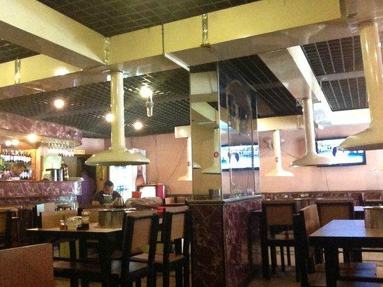 Korea Barbecue Restaurant : hall