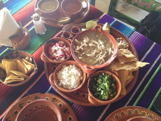Tamales y Atoles Any: White Posole